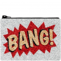 Bang Glitter Clutch Bag