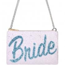Bride Glitter Cross-body Bag