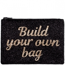 Build Your Own Glitter Clutch Bag