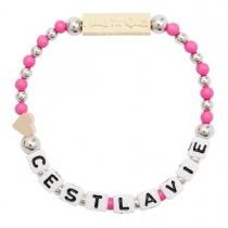 Cest La Vie Stretch Bracelet