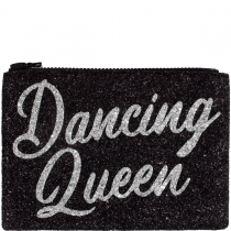Dancing Queen Glitter Clutch Bag