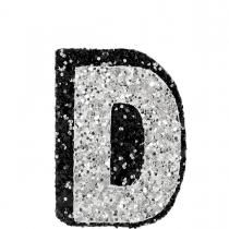 D Glitter Sticker