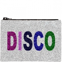 DISCO Glitter Clutch Bag