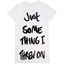 Just Something I Threw On T-Shirt Dress