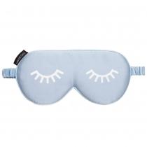 Silk Sleeping Eye Mask Blue
