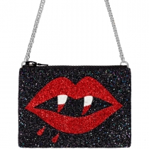 Vamp Glitter Cross-Body Bag