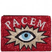 Pacem Glitter Clutch Bag