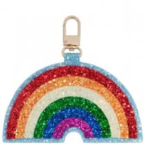 Rainbow Jumbo Glitter Charm