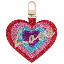 Love Jumbo Glitter Charm