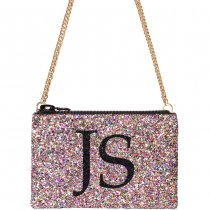 Multi Monogram Glitter Cross-body Bag