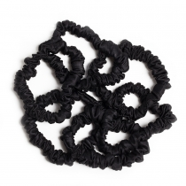 Silk Hairbands Black