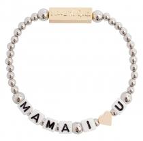 Mama I Love U Stretch Bracelet