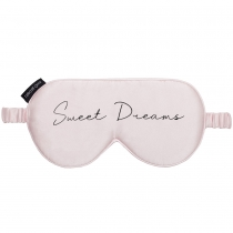 Silk Sweet Dreams Eye Mask Pink