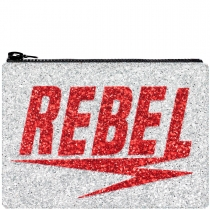 Rebel Glitter Clutch Bag