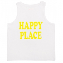 Happy Place Sleeveless T-Shirt
