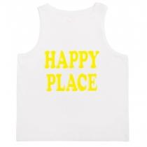 Happy Place Sleeveless T-Shirt