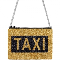 Taxi Glitter Cross-Body Bag