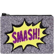 Smash Glitter Clutch Bag