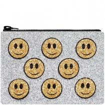 Happy Glitter Clutch Bag