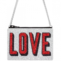 Love Glitter Cross-Body Bag