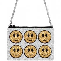Happy Glitter Cross-Body Bag