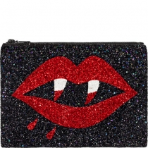 Vamp Glitter Clutch Bag