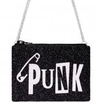 Punk Glitter Cross-body Bag