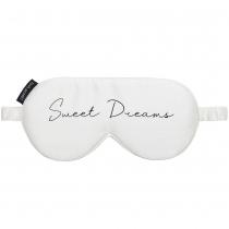Silk Sweet Dreams Eye Mask White