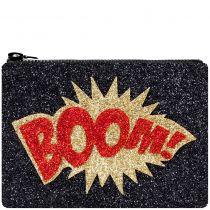 Boom Glitter Clutch Bag