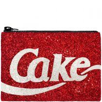 Cake Glitter Clutch Bag