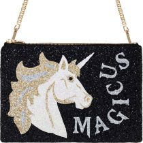 Magicus Glitter Clutch Shoulder Bag