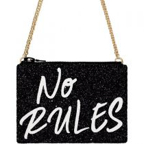 No Rules Glitter Cross-Body Bag