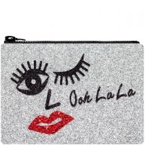 Ooh La La Glitter Clutch Bag