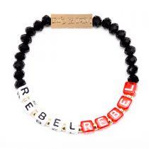 Rebel Rebel Stretch Bracelet