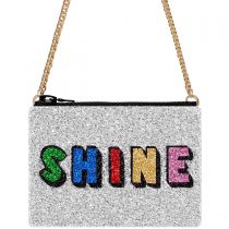 Shine Glitter Cross-Body Bag