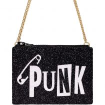 Punk Glitter Cross-body Bag