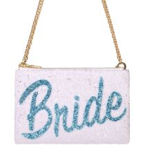 Bride Glitter Cross-body Bag