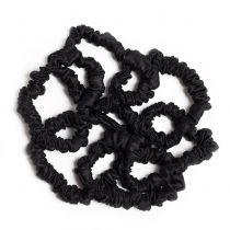 Silk Hairbands Black