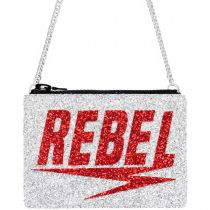 Rebel Glitter Cross-Body Bag