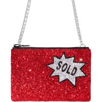 Sold Glitter Cross-Body Bag