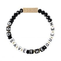 God Save The Queen Stretch Bracelet